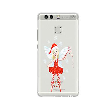 إلى نموذج غطاء غطاء خلفي غطاء عيد الميلاد ناعم TPU إلى Huaweiهواوي P9 / Huawei P9 Lite / Huawei P9 Plus / Huawei P8 / Huawei P8 Lite /