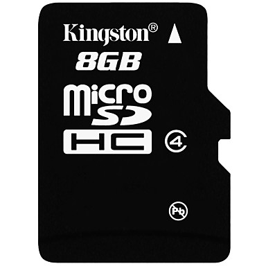 Kingston 8GB Micro SD kort TF Card hukommelseskort Class4