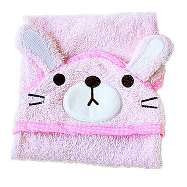 ροζ βαμβάκι σκυλιά καθαρισμού λουτρό 1ps πετσέτα