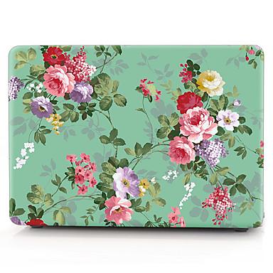 MacBook 케이스 / 노트북 케이스 꽃장식 플라스틱 용 MacBook Air 13인치 / MacBook Pro 13인치 / MacBook Air 11인치