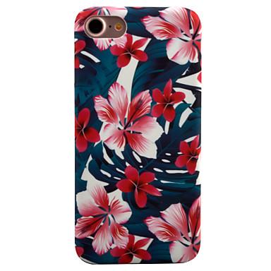 Pouzdro Uyumluluk Apple iPhone 8 iPhone 8 Plus iPhone 6 iPhone 7 Plus iPhone 7 Temalı Arka Kapak Çiçek Sert PC için iPhone 8 Plus iPhone