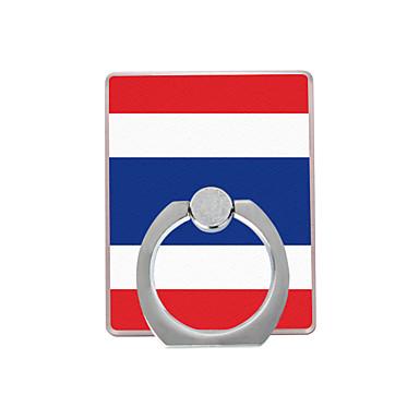 Tayland bayrağı plastik halka tutacağı / 360 cep telefonu için dönen iphone 8 7 samsung galaxy s8 s7