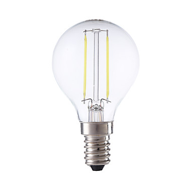 E14 Żarówka dekoracyjna LED P45 2 Diody lED COB Ciepła biel Zimna biel 250lm 6500/2700K AC 220-240V