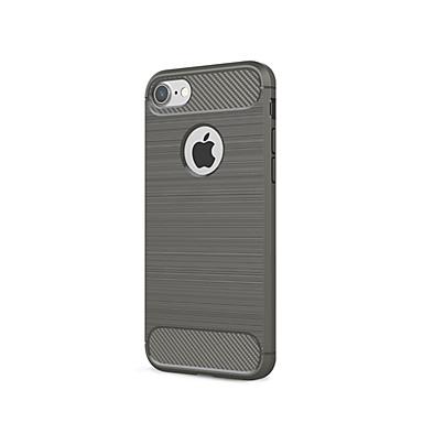 voordelige iPhone 7 hoesjes-hoesje Voor Apple iPhone XS / iPhone XR / iPhone XS Max Stofbestendig Achterkant Effen Zacht Hiilikuitu