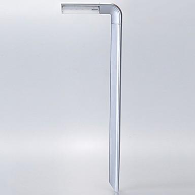 1buc 8LED solar mini-gradina de iluminat din plastic a condus lampă 7 stil de lumină Spike