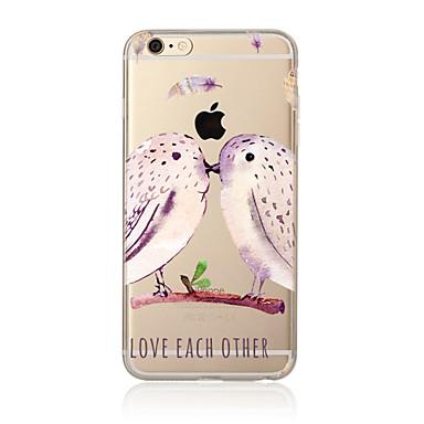 Kılıf Na Apple iPhone X / iPhone 8 Plus / iPhone 7 Przezroczyste / Wzór Czarne etui Zwierzę Miękkie TPU na iPhone X / iPhone 8 Plus / iPhone 8