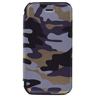 Etui Käyttötarkoitus Apple iPhone 8 iPhone 8 Plus iPhone 7 iPhone 7 Plus iPhone 6 Korttikotelo Lomapkko Kokonaan peittävä Armeijatyyli
