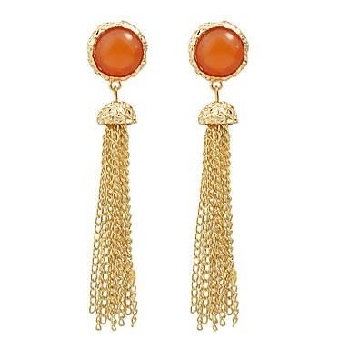 Damla Küpeler Moda alaşım Altın Mücevher Için Düğün 1 çift