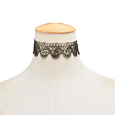 Γυναικεία Κολιέ Τσόκερ Κοσμήματα Flower Shape Δαντέλα Εξατομικευόμενο Μοντέρνα Κοσμήματα Για Πάρτι Γενέθλια Καθημερινά Causal