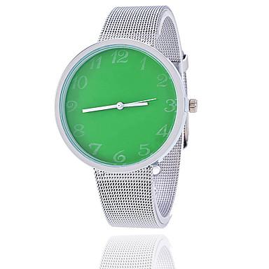 Damskie Modny Zegarek na nadgarstek Kwarcowy Stop Pasmo Postarzane Na co dzień Srebro Purple Czerwony Green Różowy Light Blue