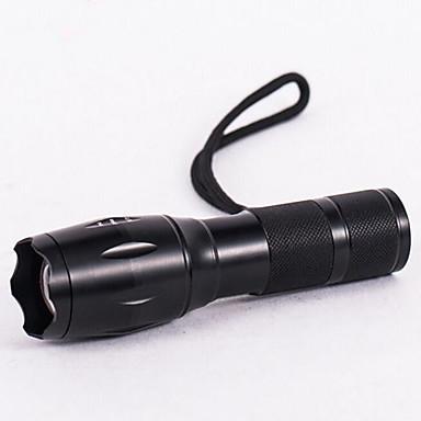 LED Flashlights LED 800 lm 3 طريقة LED مع البطارية والشاحن زوومابلي Adjustable Focus ضد الماء حجم مصغر ضوء سوبر Camping/Hiking/Caving
