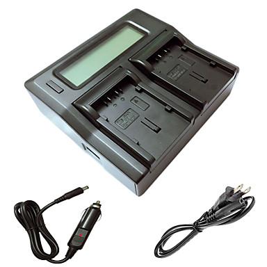 Panasonic gs78 gs108 gs27 gs28 GS500 du14 DU21 kamera batterys araba şarj kablosu ile ismartdigi DU21 lcd çift şarj