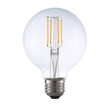 E26 LED-hehkulamput G80 4 ledit COB Himmennettävissä Lämmin valkoinen 350lm 2700K AC 110-130V