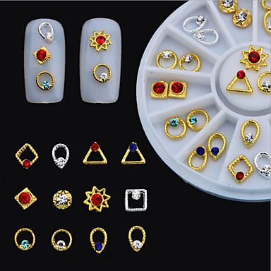 1 네일 쥬얼리 기타 장식 반짝이 금속 패션 고품질 일상