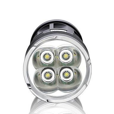 LED Fenerler LED 3000 lm 3 Kip LED Su Geçirmez Süper Hafif Yüksek Güçlü Kısılabilir için Kamp/Yürüyüş/Mağaracılık Günlük Kullanım
