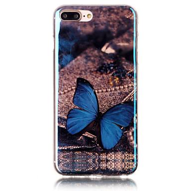 Για Με σχέδια tok Πίσω Κάλυμμα tok Πεταλούδα Μαλακή TPU για Apple iPhone 7 Plus / iPhone 7 / iPhone 6s Plus/6 Plus / iPhone 6s/6