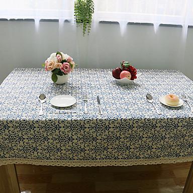 Τετράγωνο Φλοράλ Τραπεζομάντιλα , Λινό Υλικό Ξενοδοχείο Τραπέζι Επίσημων Γάμος Δείπνο Πίνακας Dceoration Δείπνο Διακόσμηση εύνοια