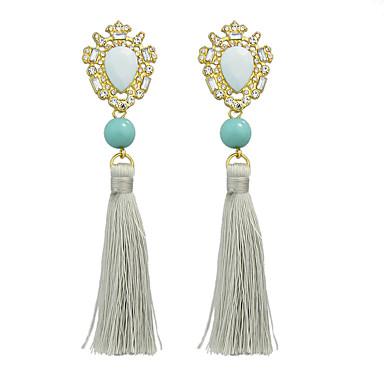 Σκουλαρίκι Χωρίς Πετράδι Κρεμαστά Σκουλαρίκια Κοσμήματα Γυναικεία Πάρτι / Καθημερινά / Causal Κράμα 1 ζευγάρι Μπλε
