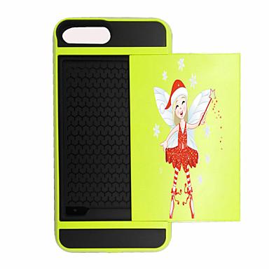 إلى حامل البطاقات / ضد الصدمات غطاء غطاء خلفي غطاء عيد الميلاد قاسي PC إلى Appleفون 7 زائد / فون 7 / iPhone 6s Plus/6 Plus / iPhone 6s/6