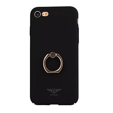 Na Galwanizowane / Uchwyt pierścieniowy Kılıf Etui na tył Kılıf Jeden kolor Twarde PC na AppleiPhone 7 Plus / iPhone 7 / iPhone 6s Plus/6