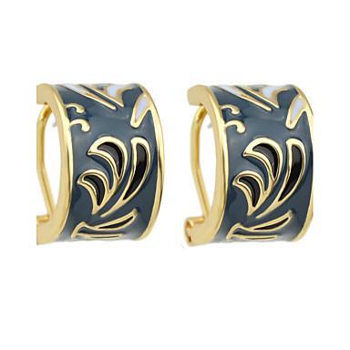 Σκουλαρίκι Κουμπωτά Σκουλαρίκια Κοσμήματα Γυναικεία Πάρτι Κράμα 1 ζευγάρι Βυσσινί / Γλυκό ροζ / Σκούρο Μπλε Μαρέν