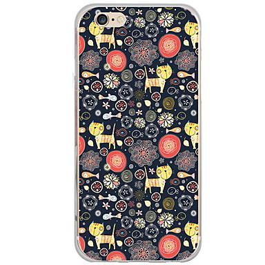 Etui Käyttötarkoitus Apple iPhone 7 iPhone 6 iPhone 5 kotelo Kuvio Takakuori Piirretty Kova PC varten iPhone 7 Plus iPhone 7 iPhone 6s