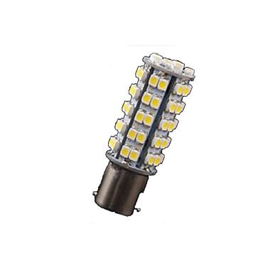 10x warm wit 1156 BA15s rv trailer led verlichting lampen 68 smd omgekeerde richtingaanwijzer