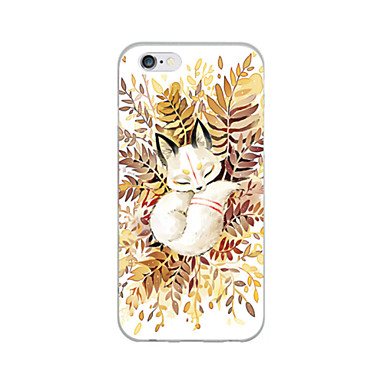 Coque Pour Apple iPhone 6 iPhone 6 Plus Ultrafine Motif Coque Animal Flexible TPU pour iPhone 6s Plus iPhone 6s iPhone 6 Plus iPhone 6