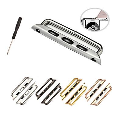 Horlogeband voor Apple Watch Series 3 / 2 / 1 Apple DHZ Gereedschap Roestvrij staal Polsband