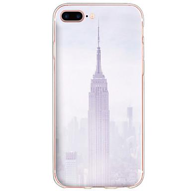 tok Για Apple iPhone 7 iPhone 6 Θήκη iPhone 5 Με σχέδια Πίσω Κάλυμμα Θέα στην πόλη Σκληρή PC για iPhone 7 Plus iPhone 7 iPhone 6s Plus