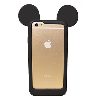 iphone 7 plus leuke 3d cartoon mooie muis oor zachte siliconen gel bumper voor iPhone 6s 6 plus