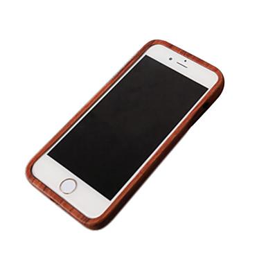 Capinha Para Apple iPhone 6 iPhone 6 Plus Antichoque Capa traseira Madeira Rígida De madeira para