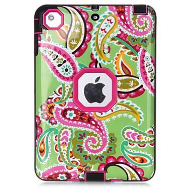 إلى الماء / التراب / والدليل على الصدمة نموذج غطاء كامل الجسم غطاء زهور قاسي TPU إلى Apple iPad Mini 3/2/1