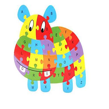 Lego Puzzle Pegged puzzle-uri Modelul lemnului Alină Stresul Jucării Educaționale Jucarii Cai Animale Novelty Lemn Băieți Fete 1 Bucăți