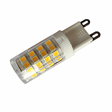 3,5w g4 / g9 / e14 ledli çift pimli ışıklar t 51 smd 2835 300-350lm sıcak beyaz / soğuk beyaz ac110 / ac220 v 1 parça