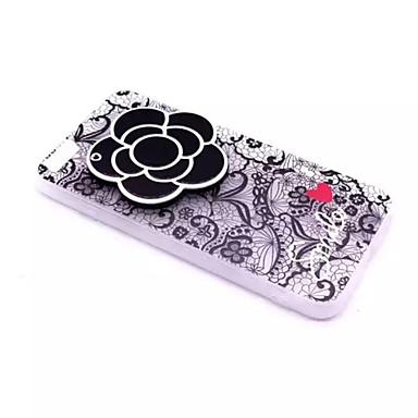 Για Ανάγλυφη tok Πίσω Κάλυμμα tok Λουλούδι Σκληρή PC για Apple iPhone 7 Plus / iPhone 7