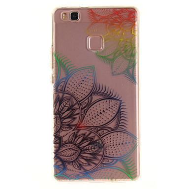 Pentru huawei p9 Lite p8 lite tpu material imd proces vis de flori model de caz telefon pentru y6ii bucura 5 onoare 8