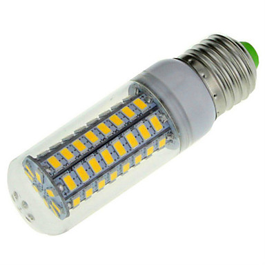 E14 E26/E27 LED-maïslampen B 72 leds SMD 5730 Decoratief Warm wit Koel wit 1650lm 2800-3200/6000-6500K AC 220-240V
