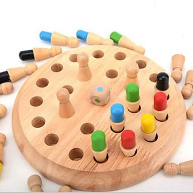 Τουβλάκια Επιτραπέζια παιχνίδια Εκπαιδευτικό παιχνίδι Παιχνίδια Κυκλικό Κυλινδρικό Πρωτότυπες Ξύλο Κοριτσίστικα Αγορίστικα 1 Κομμάτια