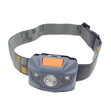 Kafa Lambaları Far LED 100 lm 3 Kip LED Zoomable Kaymaz Tutacak Yüksek Güçlü Renk Değiştiren Kompakt Boyut Kamp/Yürüyüş/Mağaracılık