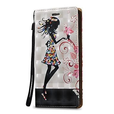 غطاء من أجل Samsung Galaxy حامل البطاقات محفظة قلب غطاء كامل للجسم امرآة مثيرة قاسي جلد PU إلى Note 5 Note 4 Note 3