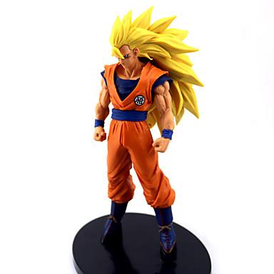 Anime Aksiyon figürleri Esinlenen Dragon Ball Goku Anime Cosplay Aksesuarları şekil PVC