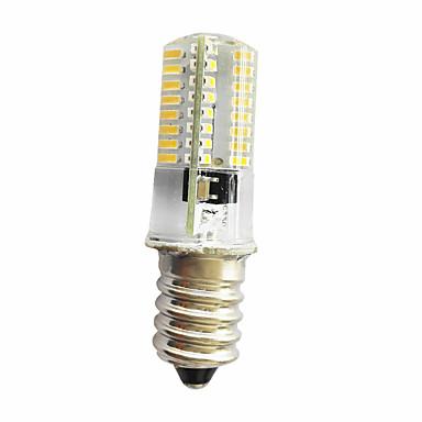 280-300lm E14 / E11 / E12 Oświetlenie dekoracyjne T 64 Koraliki LED SMD 3014 Przysłonięcia Ciepła biel / Zimna biel 220V / 85-265V