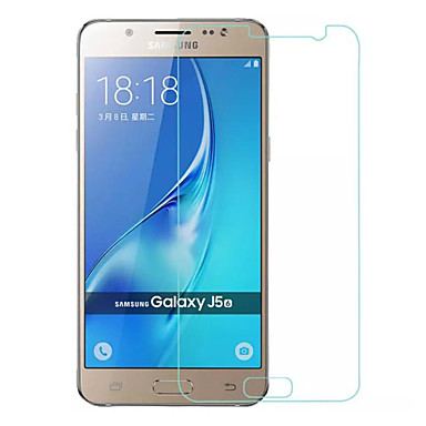 Screen Protector Samsung Galaxy for J5 (2016) Tempered Glass 1 pc Front Screen Protector Ultra Thin 9H Hardness High Definition (HD)