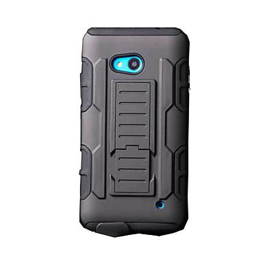 Voor Nokia hoesje Schokbestendig / met standaard hoesje Volledige behuizing hoesje Pantser Hard PC Nokia Nokia Lumia 640