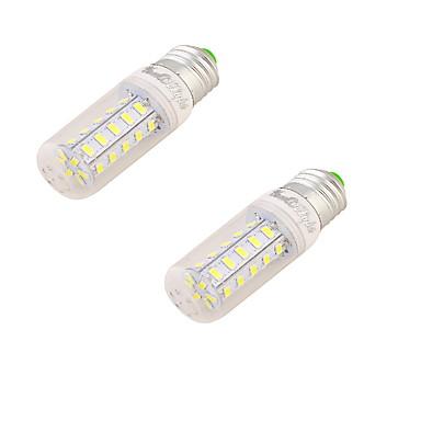 E26/E27 Becuri LED Corn T 24 led-uri SMD 5730 Decorativ Alb Cald 150lm 3000K AC 220-240V