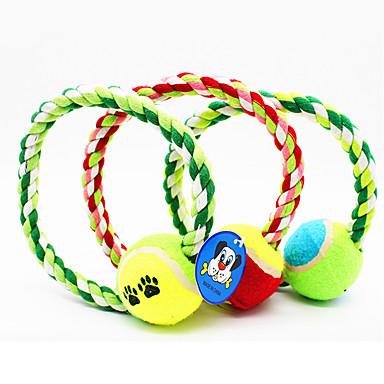 Jucării Animale Jucării de Mestecat Funie Minge tenis