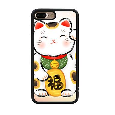 Για Με σχέδια tok Πίσω Κάλυμμα tok Γάτα Μαλακή TPU για Apple iPhone 7 Plus iPhone 7 iPhone 6s Plus/6 Plus iPhone 6s/6