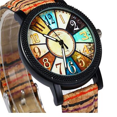 Bărbați Ceas de Mână Quartz Piele Bandă Vintage Maro