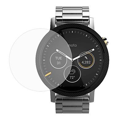 2 συσκευασίες από γυαλί premium ταινία 0,2 χιλιοστά πραγματική μετριάζεται προστατευτικό οθόνης από γυαλί για το έξυπνο ρολόι moto 360 2η